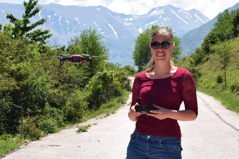 Drone piloot Mirre Oost