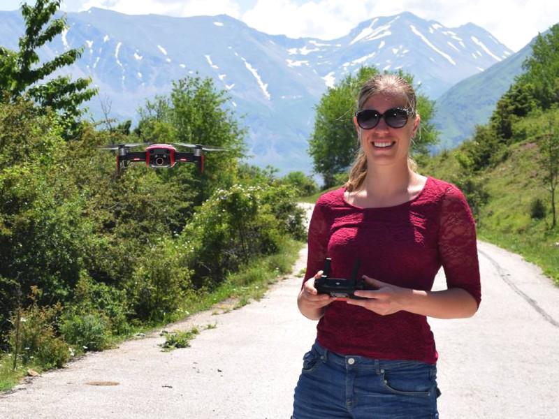 Drone opnames voor SNP Natuurreizen in Griekenland.